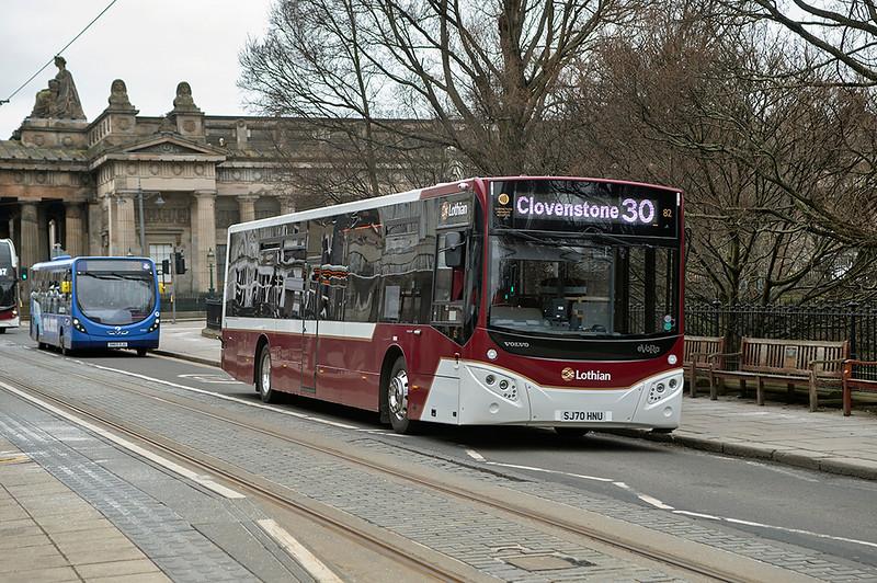 82 SJ70HNU, Edinburgh 5/3/2021