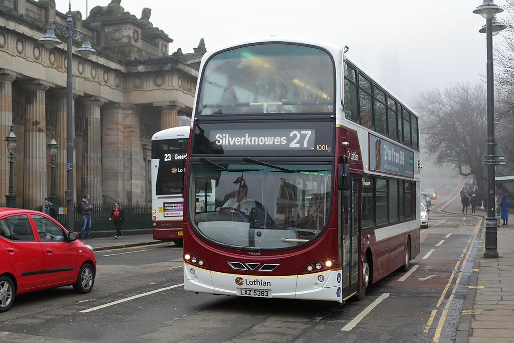 1001 LXZ5383, Edinburgh 13/4/2018