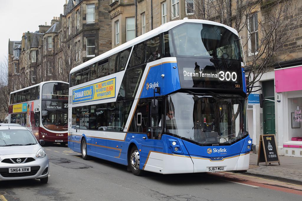 583 SJ67MGU, Edinburgh 8/4/2018