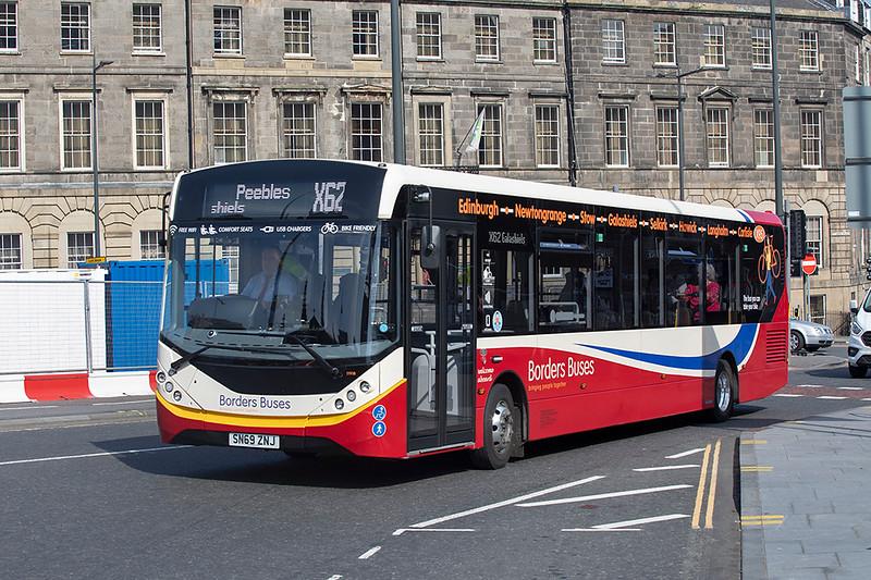 11918 SN69ZNJ, Edinburgh 8/9/2021