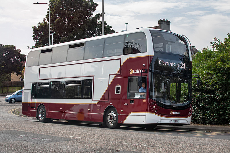 638 SJ21NBE, Lochend 8/9/2021