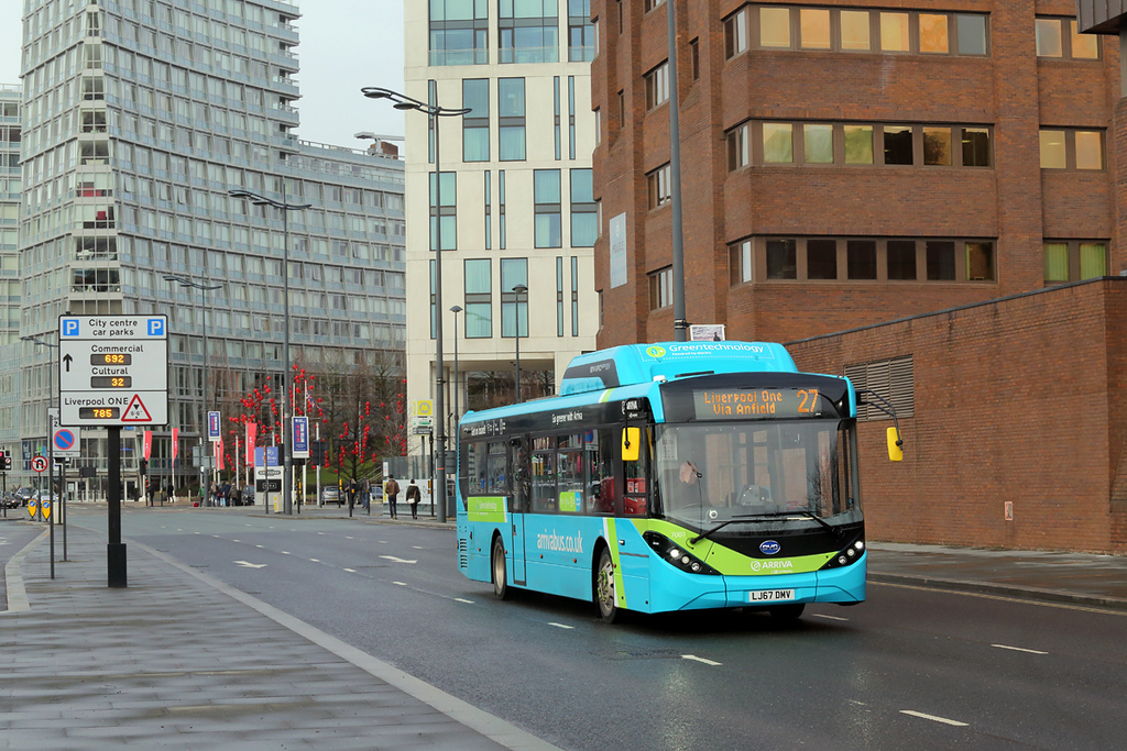 7007 LJ67DMV, Liverpool 13/2/2018