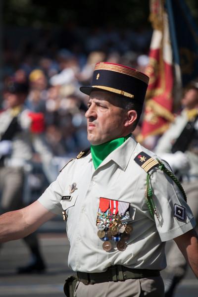 Grumpy soldier