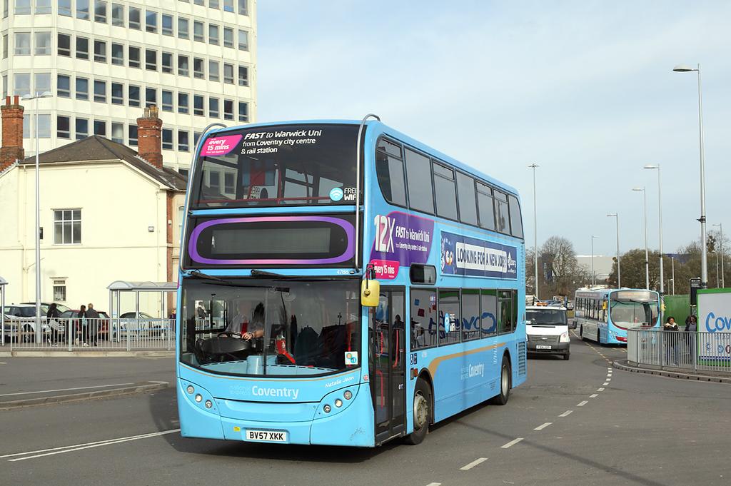 4766 BV57XKK, Coventry 14/3/2018