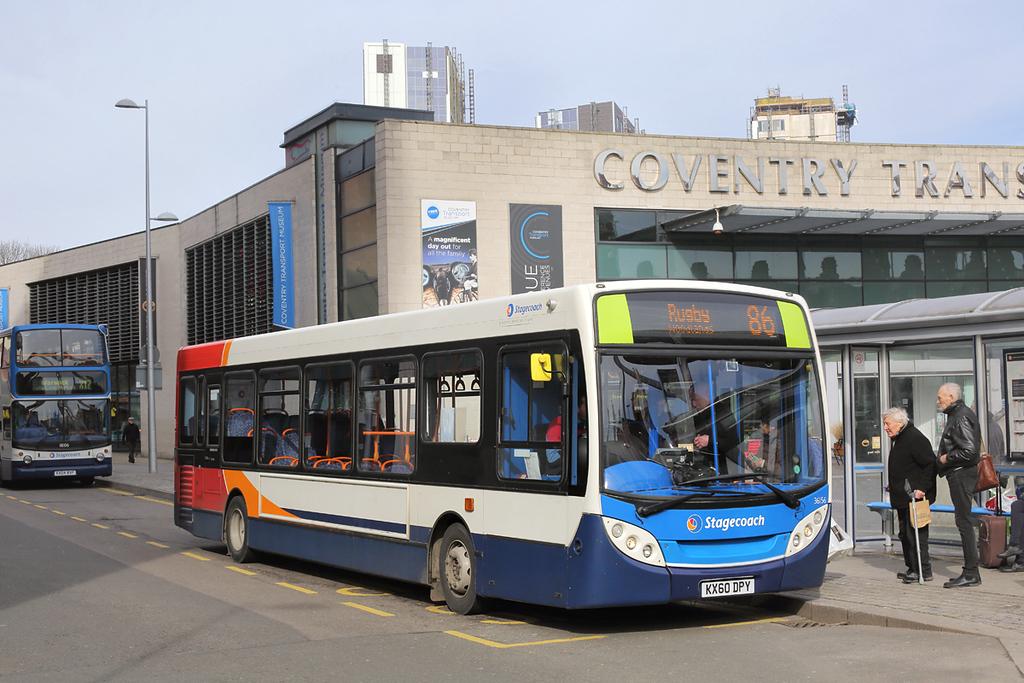 36156 KX60DPY, Coventry 14/3/2018