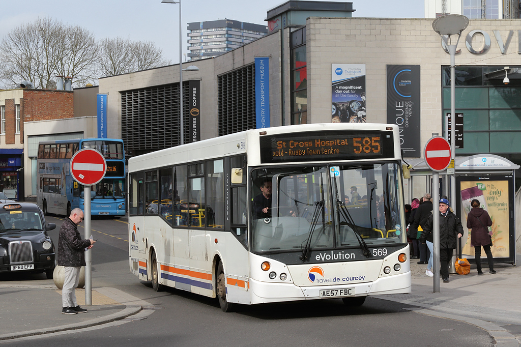 569 AE57FBC, Coventry 14/3/2018