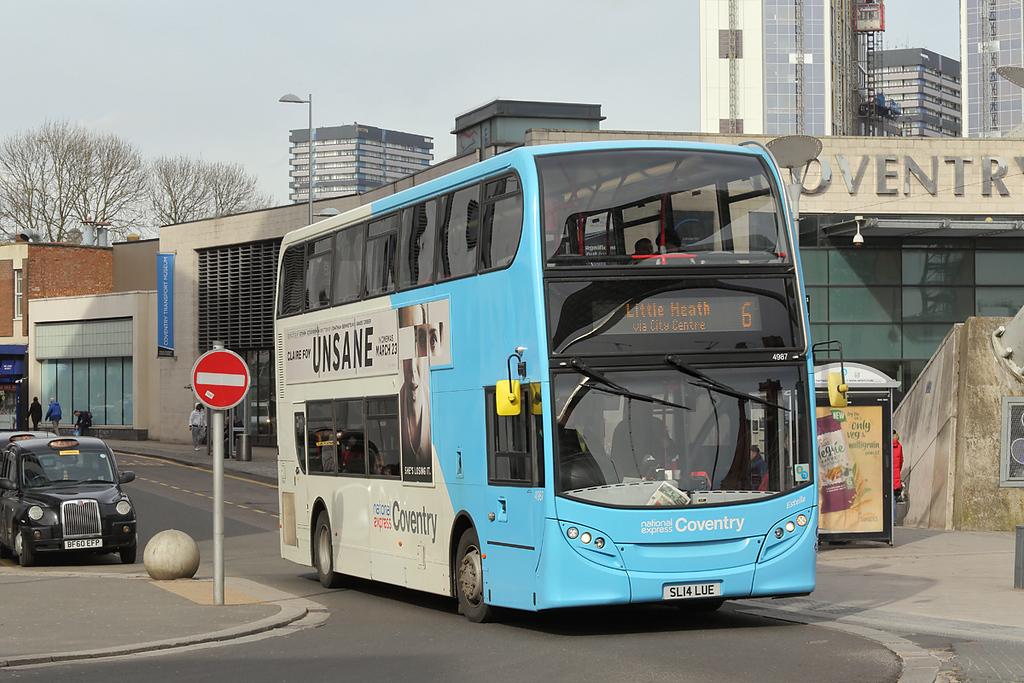 4987 SL14LUE, Coventry 14/3/2018