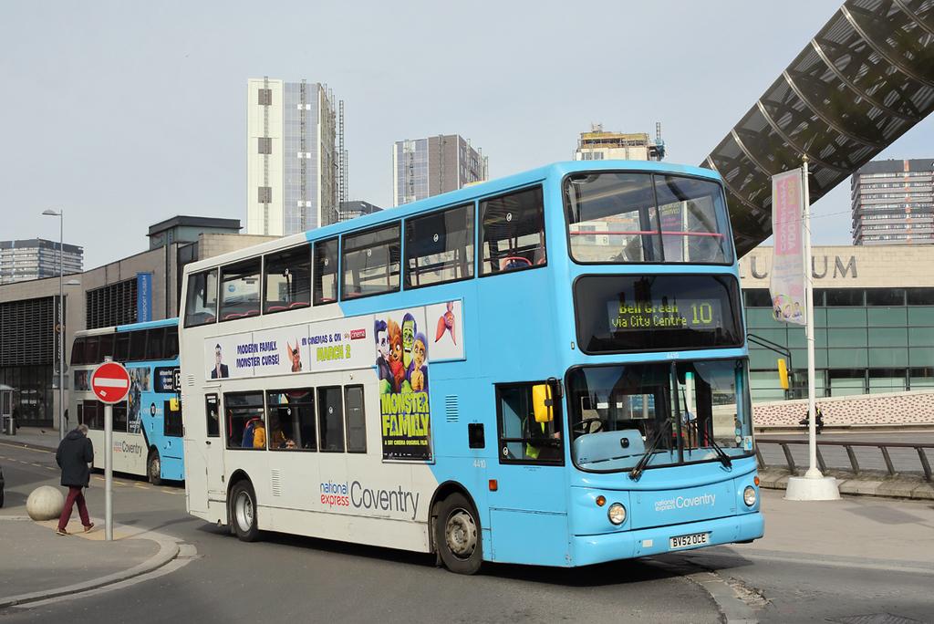 4410 BV52OCE, Coventry 14/3/2018