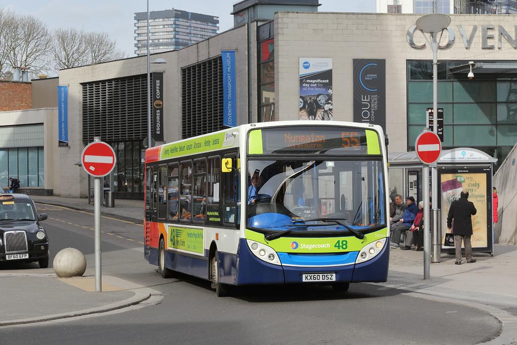 36166 KX60DSZ, Coventry 14/3/2018