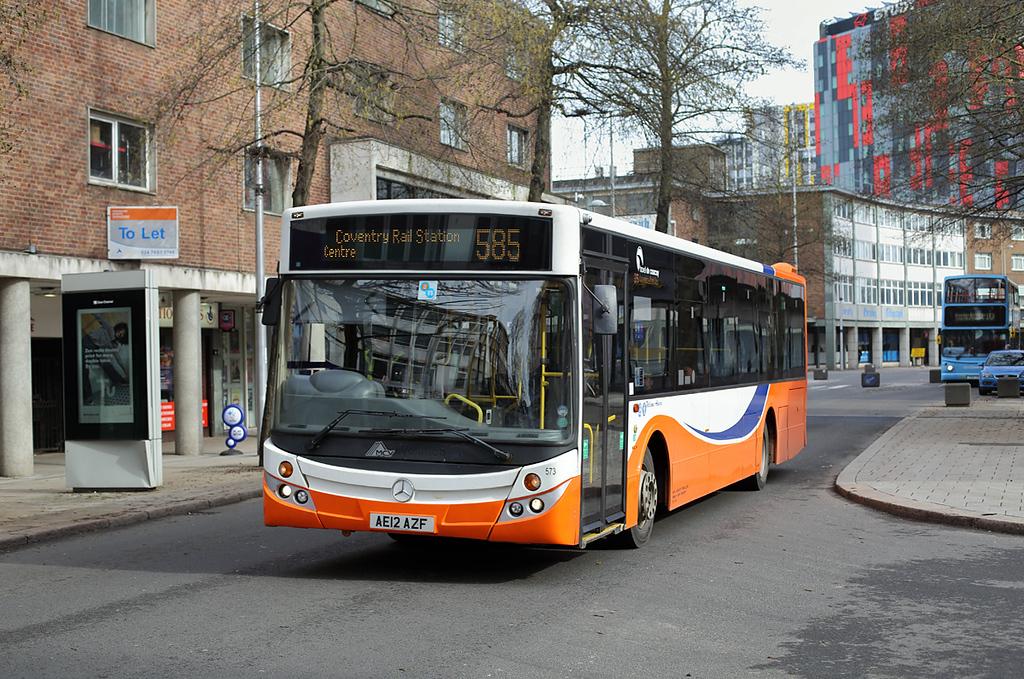 573 AE12AZF, Coventry 14/3/2018