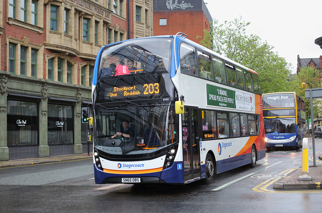 10482 SN65OBS, Manchester 16/5/2017
