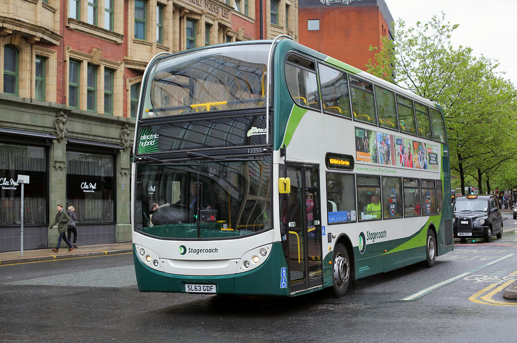 12255 SL63GDF, Manchester 16/5/2017