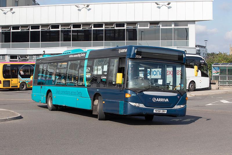 3554 YR58SRV, Derby 16/9/2021