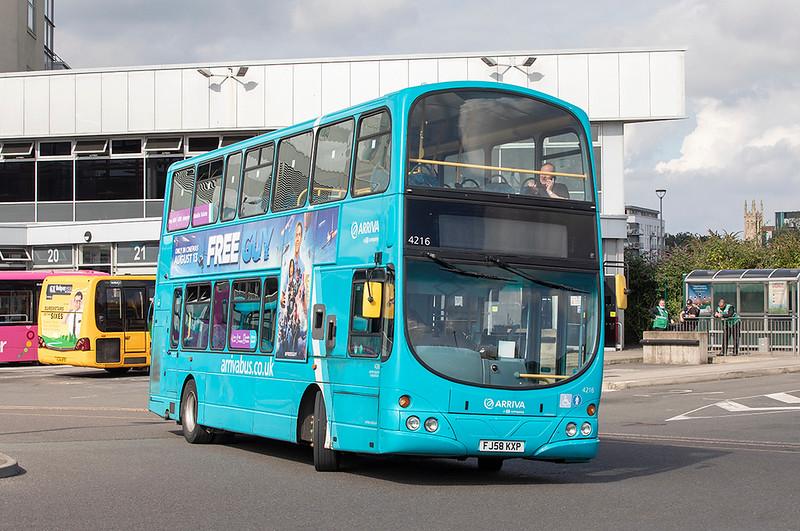 4216 FJ58KXP, Derby 16/9/2021