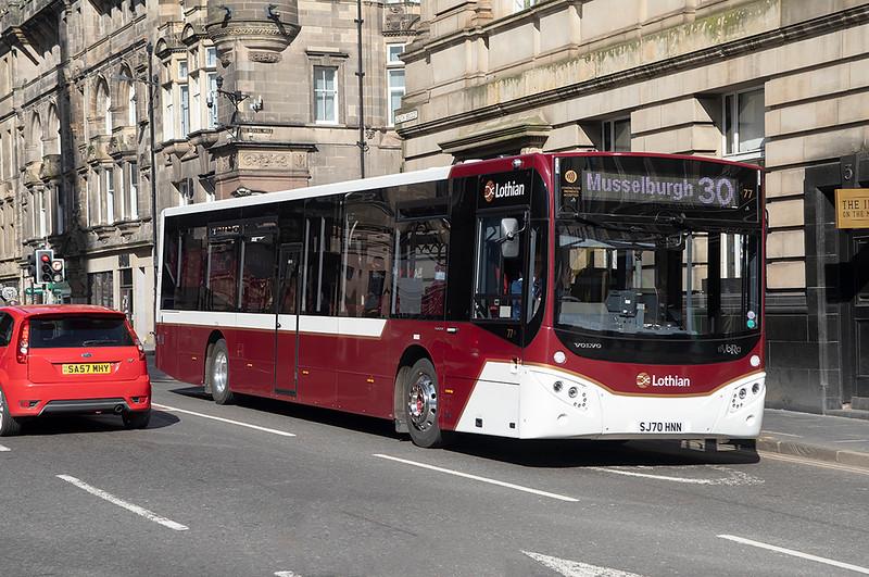 77 SJ70HNN, Edinburgh 18/3/2021