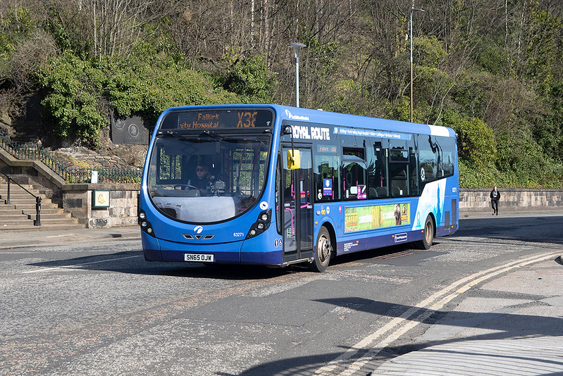 63271 SN65OJW, Edinburgh 18/3/2021