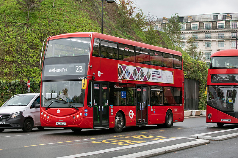 OE34032 YJ21EXP, Marble Arch 19/9/2021