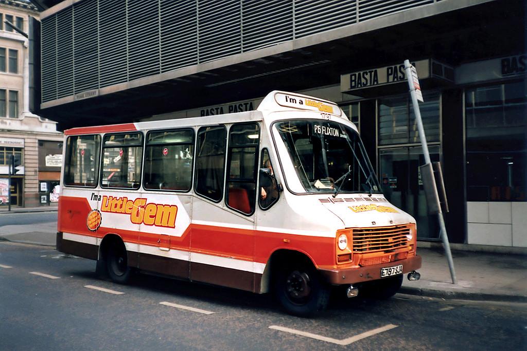 1797 E797SJA, Manchester 1/3/1991