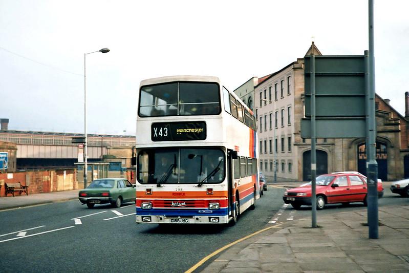 2188 G188JHG, Manchester 1/3/1991