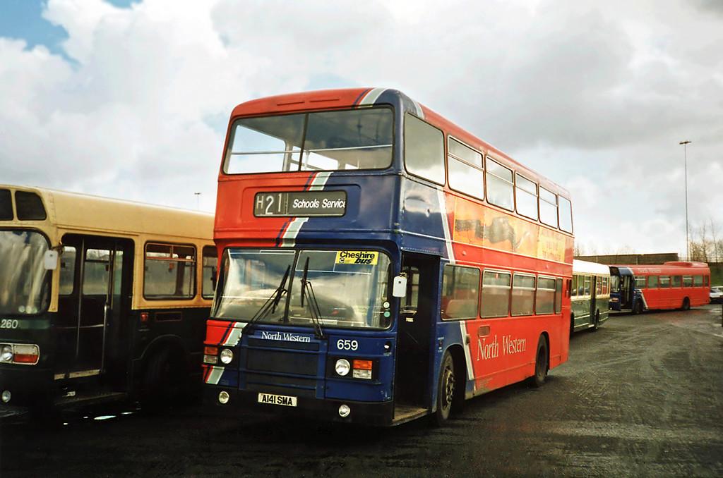 659 A141SMA, Runcorn 1/3/1991