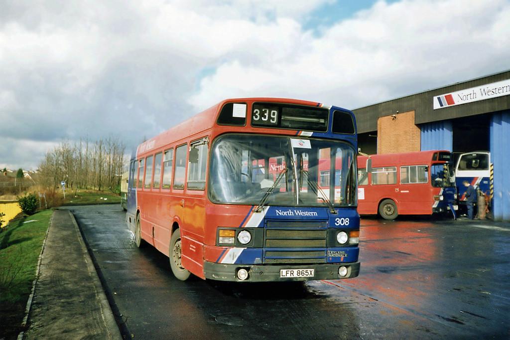 308 LFR865X, Runcorn 1/3/1991