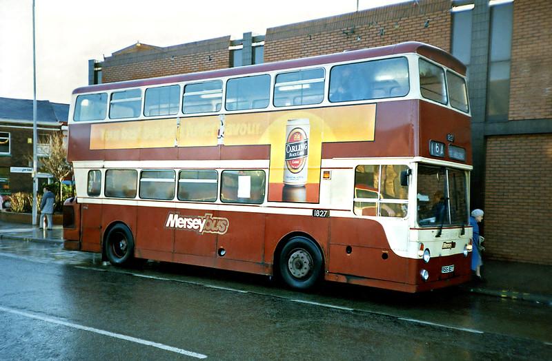 1827 RBG827T, St Helens 2/1/1991