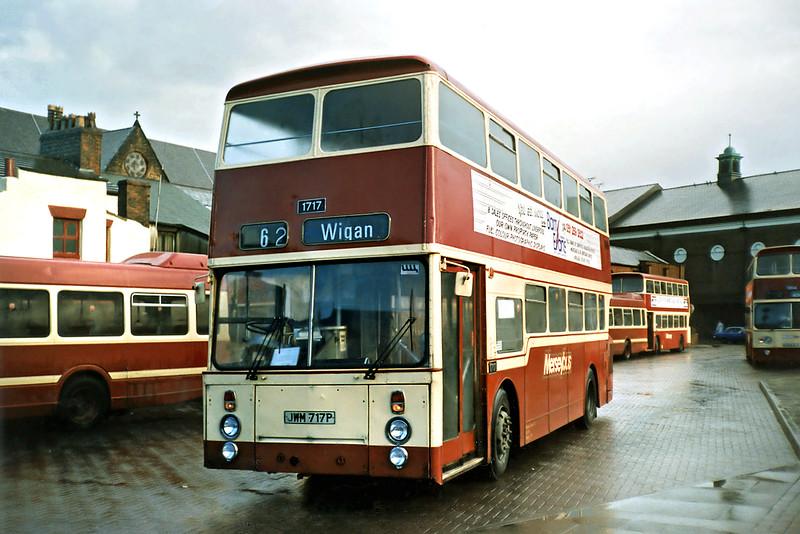 1717 JWM717P, St Helens 2/1/1991