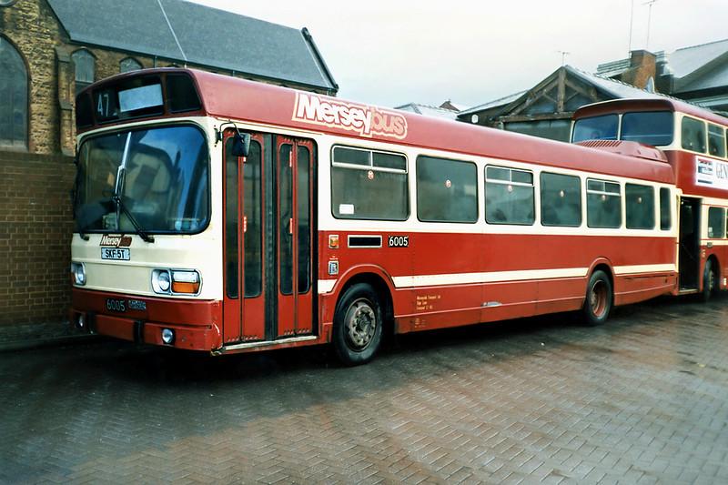 6005 SKF5T, St Helens 2/1/1991