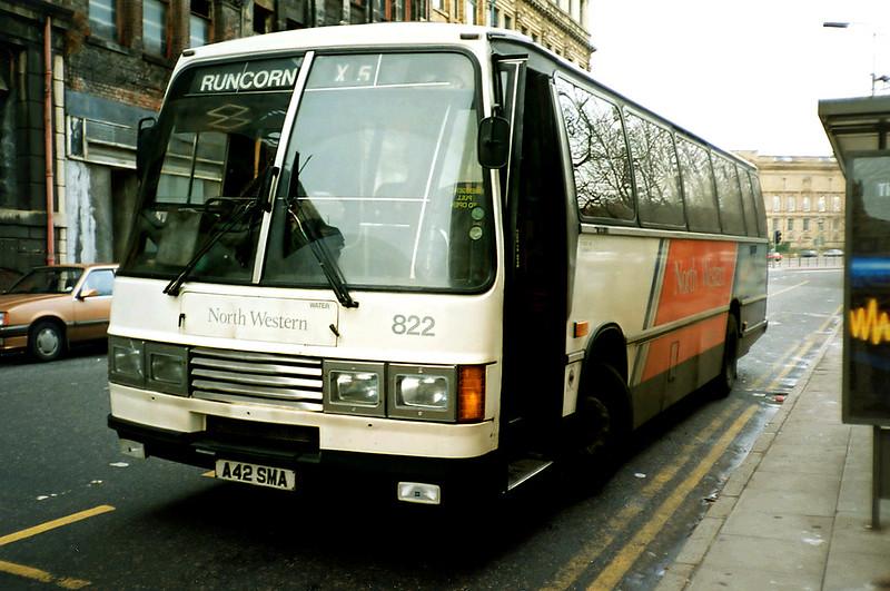 822 A42SMA, Liverpool 2/1/1991