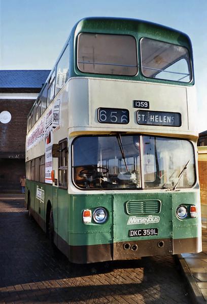 1359 DKC359L, St Helens 2/1/1991
