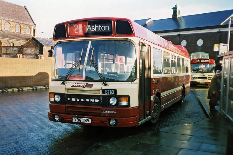 6118 VBG118V, St Helens 2/1/1991