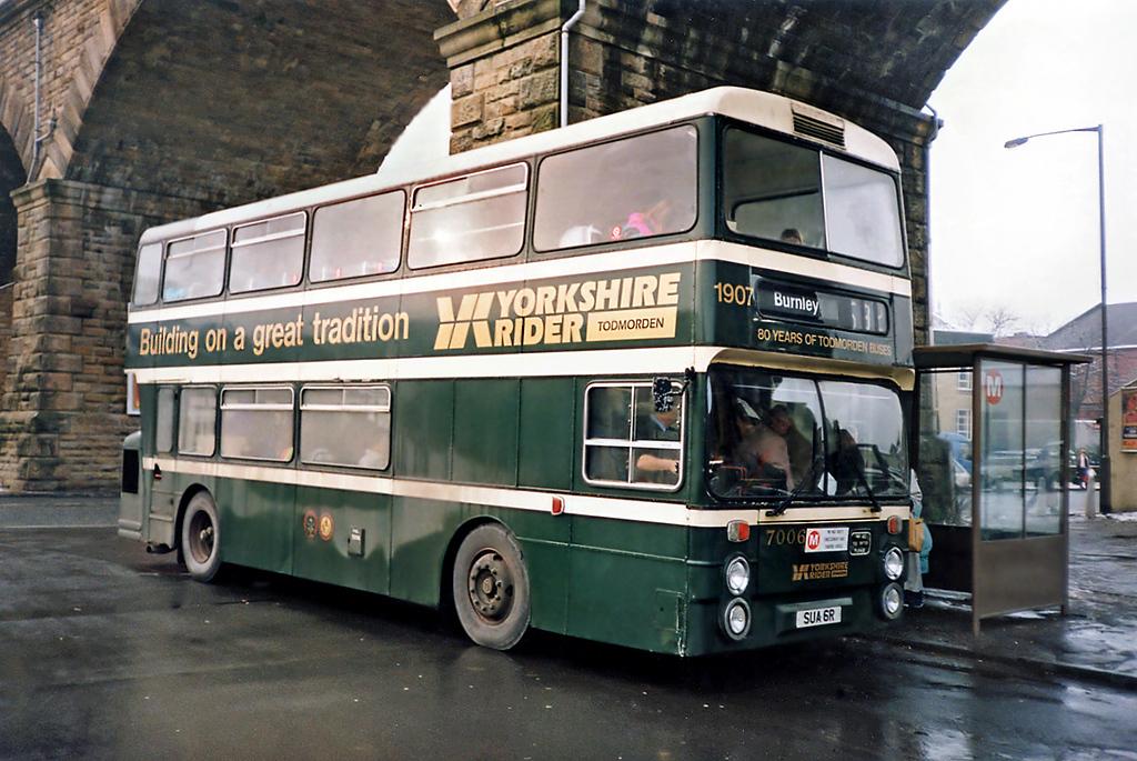 7006 SUA6R, Todmorden 2/2/1991