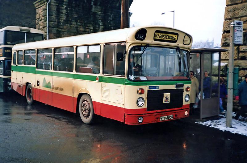 6 YTC306N, Todmorden 2/2/1991