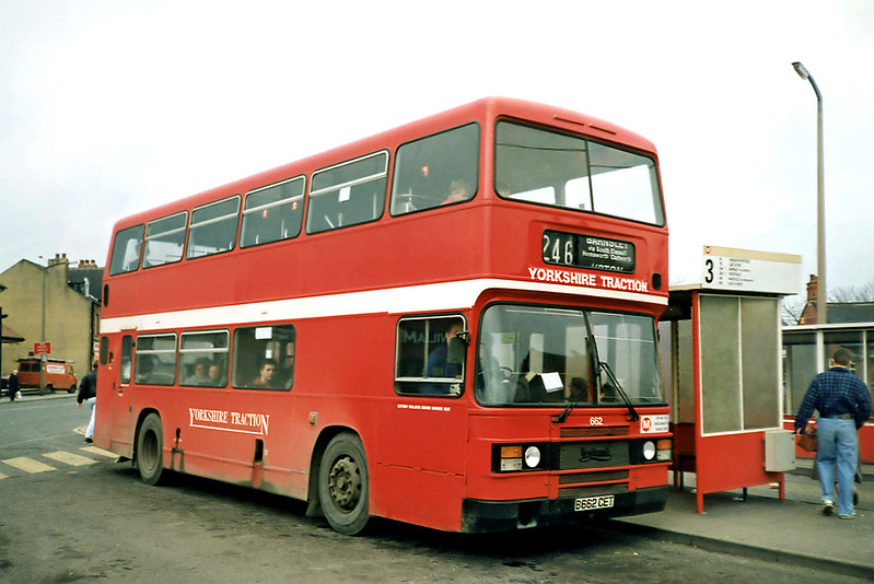 662 B662GET, South Elmsall 2/3/1991