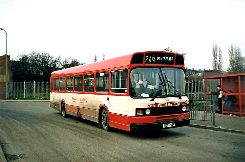 219 EDT219V, Hemsworth 2/3/1991