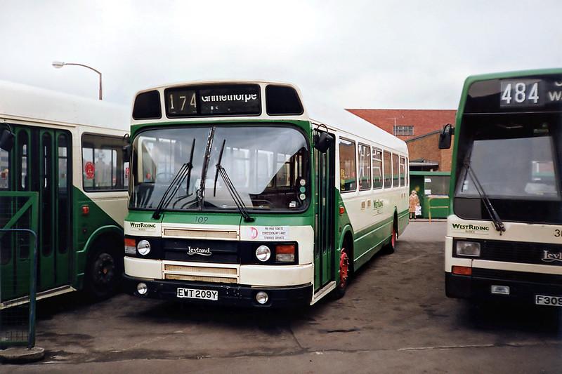 109 EWT209Y, Wakefield 2/3/1991