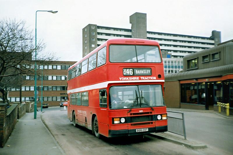 661 B661CET, Pontefract 2/3/1991