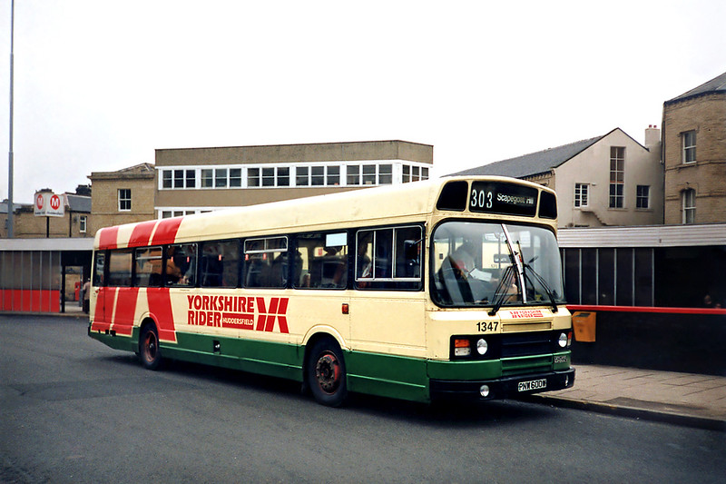 1347 PNW600W, Huddersfield 2/3/1991