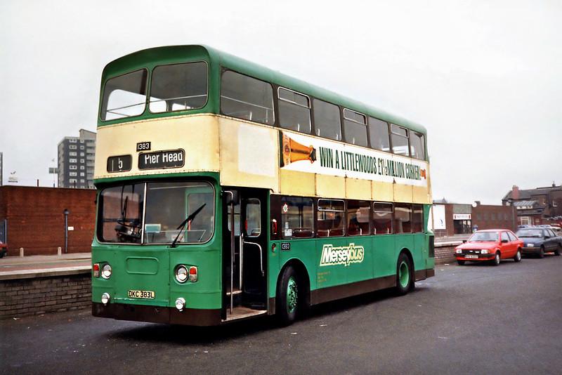 1383 DKC383L, Bootle 2/4/1991