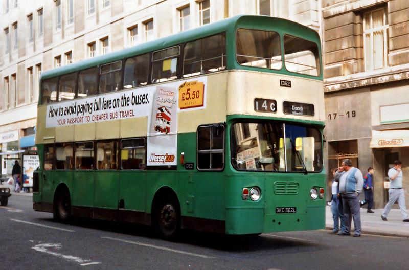 1362 DKC362L, Liverpool 2/4/1991