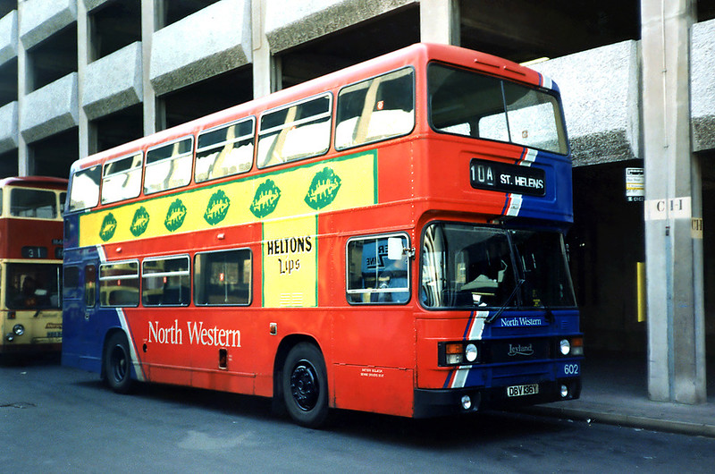 602 DBV136Y, Liverpool 2/4/1991