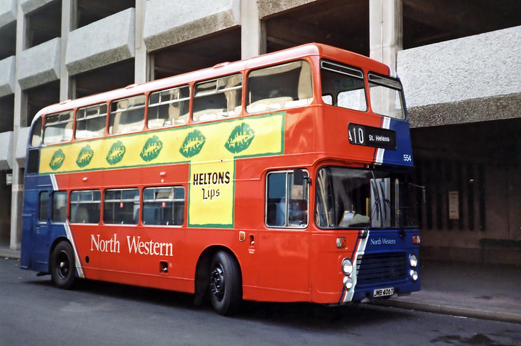 554 JMB406T, Liverpool 2/4/1991