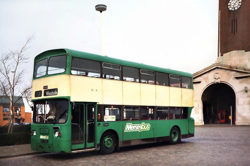 1349 DKC349L, Seacombe 2/4/1991