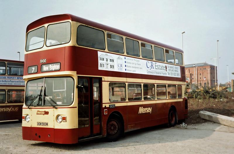 1900 XEM900W, Birkenhead 2/4/1991