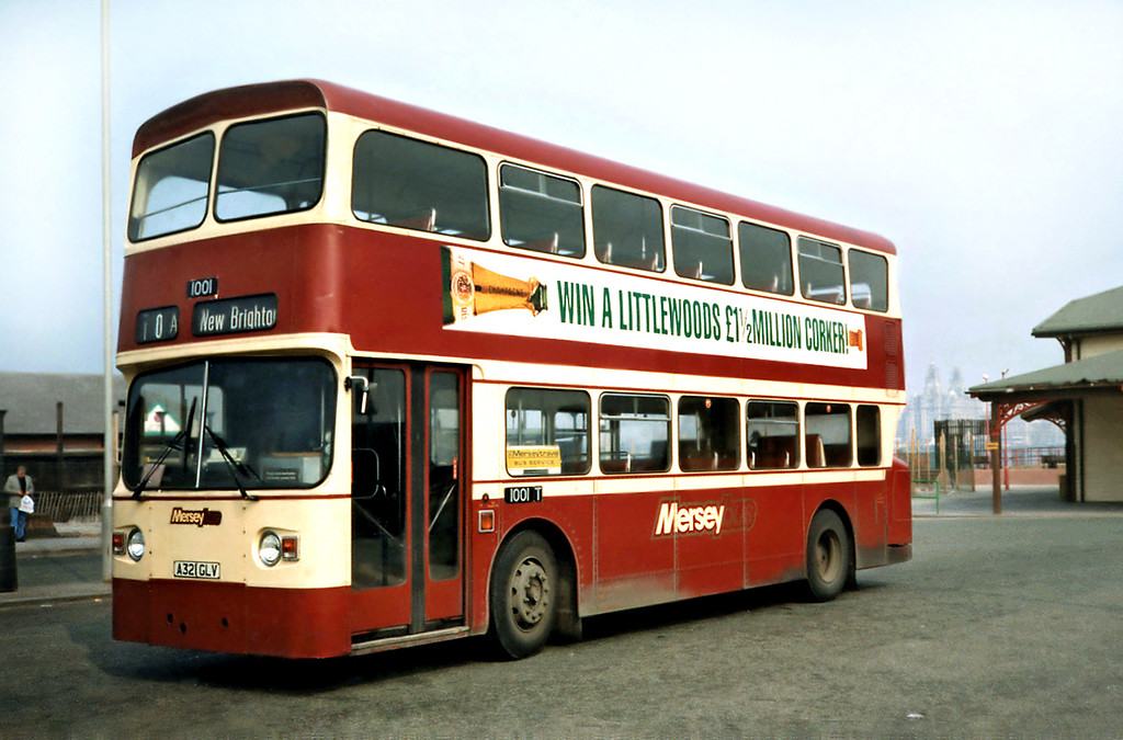 1001 A321GLV, Woodside 2/4/1991