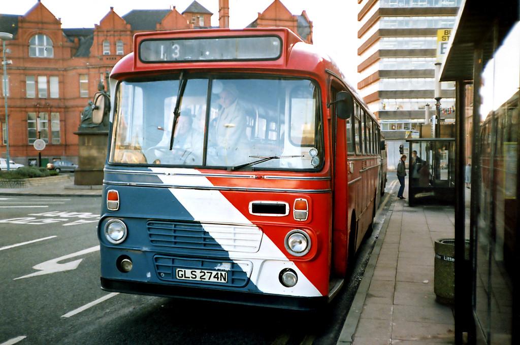 GLS274N, St Helens 3/1/1991