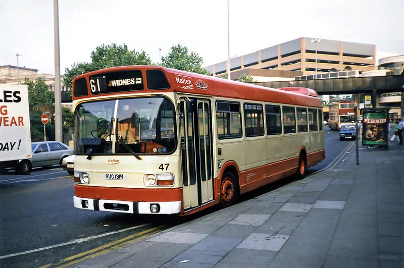47 GUG131N, Liverpool 3/9/1991