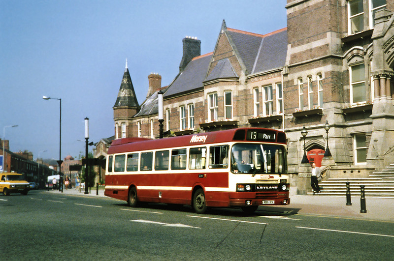 6081 VBG81V, St Helens 3/9/1991