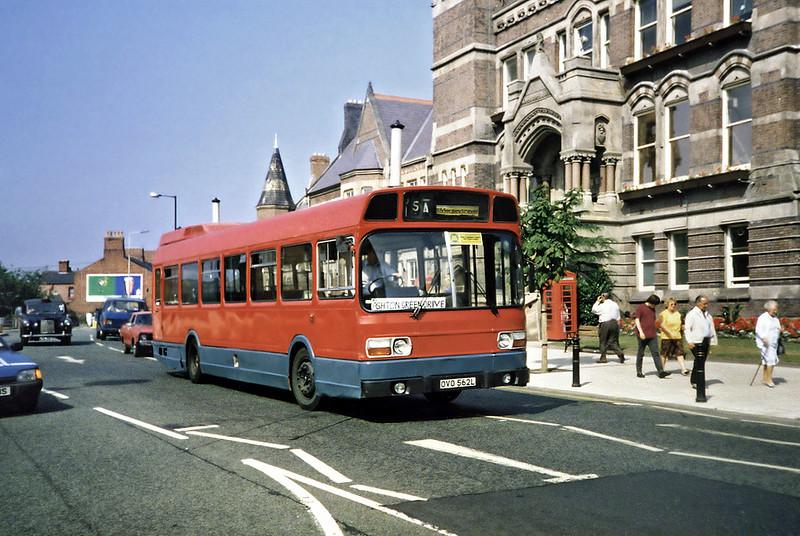 OVO562L, St Helens 3/9/1991