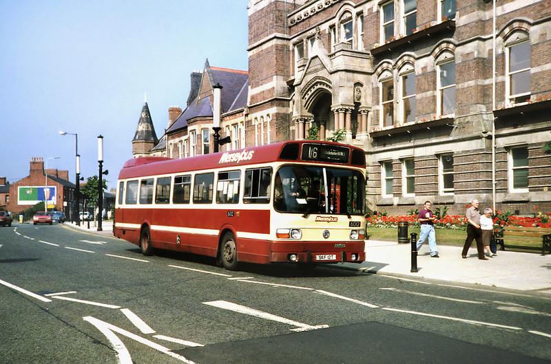 6012 SKF12T, St Helens 3/9/1991